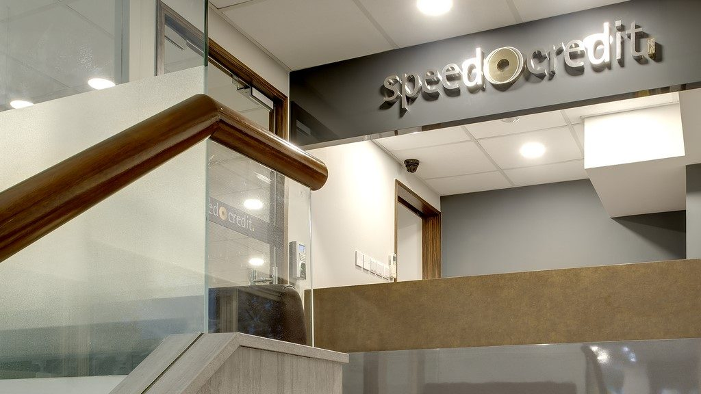 Speed Credit Front Counter