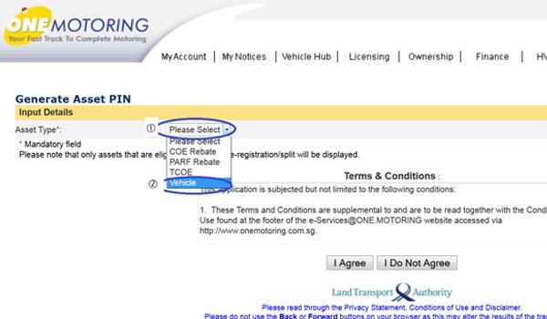 LTA Transaction Pin Request - Step 7
