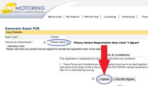 LTA Transaction Pin Request - Step 8